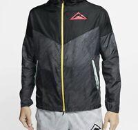 Nike ACG Windrunner Hooded Trail Running Jacket Men's Medium CQ7961-010 RUN
