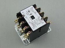 Hvacstar SA-4P-30A-24V Definite Purpose Contactor 4Poles 30FLA 24V AC Coil