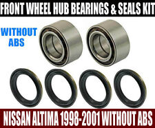 Fits:Nissan Altima 1998-2001 W/O ABS Front Wheel Hub Bearing & Seal Set LT & RT