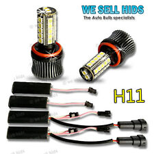 High POWER H8 FOG LIGHT LED Drl Lampadine Canbus Errore VW Golf MK6 GTD GTI