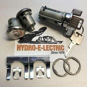 NEW 1969-1977 Corvette Ignition & Door lock set with GM Keys