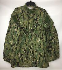 New NWT US Navy USN NWU Type III Working Uniform Blouse Shirt Medium XX-Long
