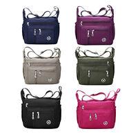 Casual Purses and Shoulder Handbags for Women Nylon Crossbody Bag Messenger Bag