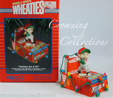 Enesco Holidays are A Hit Ornament Wheaties The Breakfast of Champions Baseball