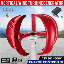 400W 12V Lanterns Wind Turbine Generator Vertical Axis Fast ship