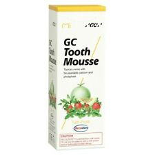 GC TOOTH MOUSSE TUTTI-FRUTTI TOPICAL TOOTH CREAM WITH RECALDENT 1 TUBE OF 40 GM