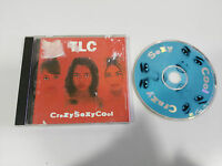 TLC CRAZY SEXY COOL CRAZYSEXYCOOL CD 1994 ARISTA USA EDITION 16 TRACKS
