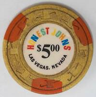 Sands Casino Las Vegas NV $5 Chip 1981