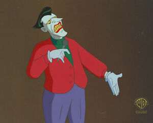 Batman Animated Series Original Production Cel- Joker-Christmas With Joker
