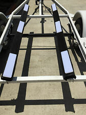 Jetski trailer bunk plastic slide glide rails  Yamaha Waveruners SeaDoo Freeship
