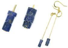 Ancient 3000BC Assyrian Armenian Lapis Lazuli Earrings Persia Gem of the Heavens