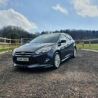 2014 Ford Focus 1.6 TDCi Zetec 5dr Hatchback Manual Diesel Low Tax