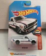 Datsun 620 #181 * White * 2017 Hot Wheels * WA6