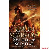 Simon Scarrow Sword and Scimitar Fiction book Crime Thrillers NEW Hard back UK