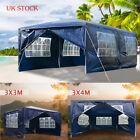 3Mx3M 3Mx4M 3Mx6M Heavy Duty Gazebo Waterproof Marquee Canopy Garden Party Tent