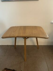 Ercol Vintage Occasional Table Three Legs