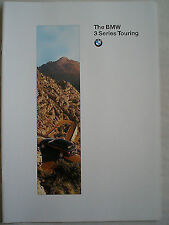 BMW 3 Series Touring brochure 1996