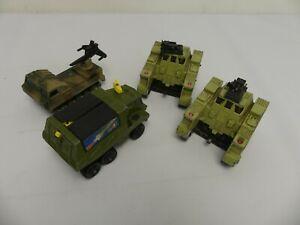 (ref288CJ) Set of 4 Vintage Diecast Matchbox Toy Cars BattleKings Adventure 2000