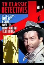 TV CLASSIC DETECTIVES VOL. 7 - HONEY WEST, DETECTIVES, M SQUAD, NAKED CITY