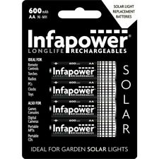 Infapower Aa 600mah Nimh Rechargeable Batteries