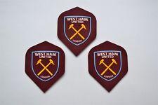 West Ham United Darts Flights Offically Licensed West Ham Utd Flights