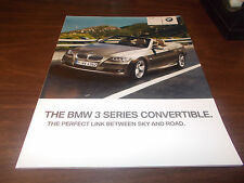 2010 BMW 3-Series Convertible 68-page Sales Catalog