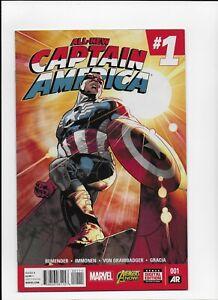 All New Captain America # 1 Sam Wilson N mint 1st print Marvel Comics