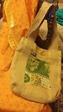 Sari Bari Handmade Burlap Shopping Bag. Perfect for Organic Groceries!!