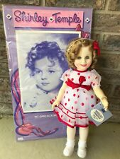 """Vtg New Ideal 1984 Shirley Temple 16"""" 'Stand Up & Cheer doll #10501"""