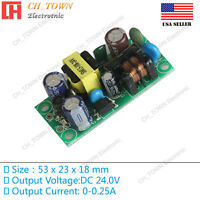AC-DC 24V 0.25A 6W Power Supply Buck Converter Step Down Module High Quality USA