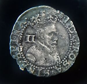 James I 1st Half Groat. 1603-04 mm Thistle First Coinage