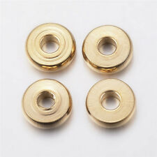 50 x Round 6mm Metal Spacer Bead Jewellery Making Necklace Spacers 45564-40