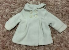NEXT baby Girls 6-9 Months Jacket Ivory Spring Beautiful