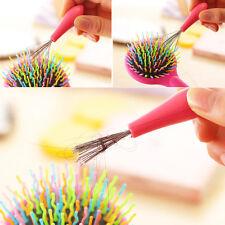 1X Neu Kamm Haarbürste Bürstenreiniger Kamm Reiniger Kunststoffgriff