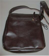 Leather Faux Briefcase Shoulder/Messenger Bag with Strap get in 3-4 days - NYC
