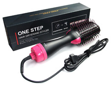 One Step - 2 in 1 Hair Dryer Brush 1000W - Curler, Straightener Styler