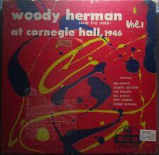WOODY HERMAN: At Carnegie Hall, 1946 Vol 2 [45] Picture Sleeve - VG+