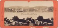 Costantinopoli Grecia & Turchia Foto B.K.Parigi Stereo Vintage Albumina. Ca
