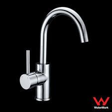 WELS Bathroom Lollypop Vanity Basin Mixer Tap Faucet Swivel Spout Brass Chrome