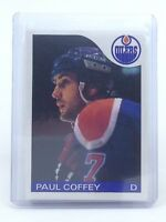 1985-86 Paul Coffey #85 Edmonton Oilers OPC O-Pee-Chee Ice Hockey Card H549