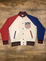 New Polo Ralph Lauren Men's Varsity Jacket USA Olympics Chariots Of Fire Logo M