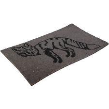 Animal Coir Fox Doormat Home Floor Entrance Outdoor Non Slip Door Mat 45x75cm