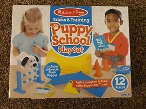 Melissa & Doug Tricks & Training Puppy School Play Set with Plush Puppy!