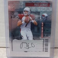 2006 Donruss Playoff Contenders Rookie Ticket Matt Leinart Cardinals Auto #236