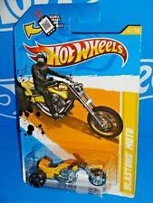 Hot Wheels 2012 New Models  #41 Blastous Moto Yellow w/ MC5s & OH5SPs