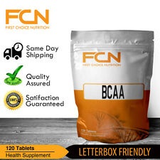 BCAA 500MG TABLETS X 120   PRE   INTRA   WORKOUT   BRANCHED CHAIN AMINO ACID