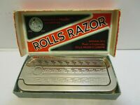 1927 ROLLS RAZOR IMPERIAL NO.2 RAZOR SHARPENER W/BOX & PAPERS