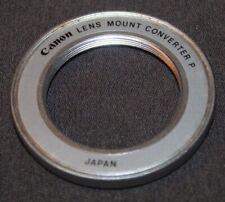 Vintage CANON Lens Mount Converter P ~ M42 TO CANON FL/FD