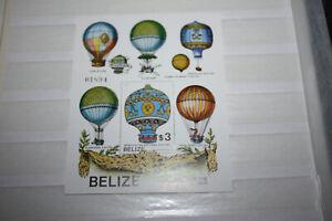Belize 1983 200 Jahre Erstflug/Ballonfahrt Block 59 ** postfrisch