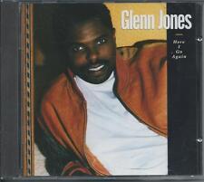 GLENN JONES - Here i go again CD Album 11TR Germany Print 1992